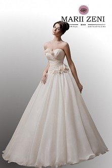 suknia ślubna Marii Zeni