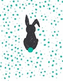 Wielkanocny zajączek,zapraszam do siebie na fb i Instagram.