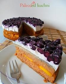 Paleo tort - bez glutenu, zbóż, nabiału.