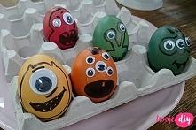 10 pomysłów diy na pisanki / 10 diy ideas for Easter eggs -tutorial twojediy.pl