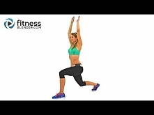 56 Minute SweatFest Butt and Thigh Cardio Workout - Calorie Blasting Interval Cardio for Lower Body