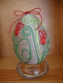 sznurkowe jajeczko tylko jedno w tym roku :)