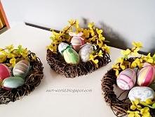Wielkanocne gniazdka