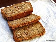 Wieloziarnisty chleb gryczany. Bez mąki, bez drożdży i zakwasu. Prosty, zdrow...