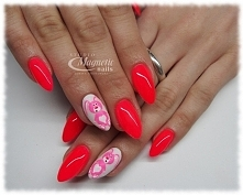 SPN Wild Pink & SPN Farbki 5,1,17   Nails by Monika, Studio Magnetic Nail...