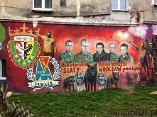 Armia Wyklęta - murale Wrocław