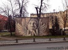 Aniołek - murale Wrocław
