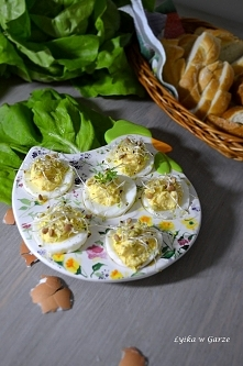 Faszerowane jajeczka, kremo...