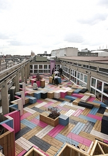••roof terrace for London C...