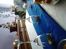 ustrojony stół wielkanocny