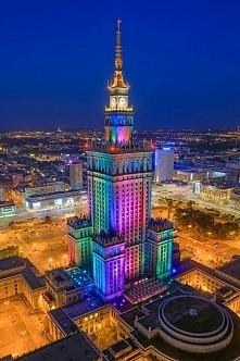 takie widoki w Warszawie!