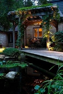Śliczny ogród