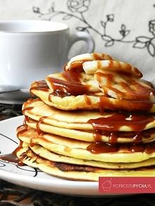 Jogurtowe pancakesy! :) pys...