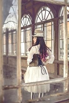 Modelka Silver Wolfie, foto Monika Słodownik, sesja dla sklepu Restyle