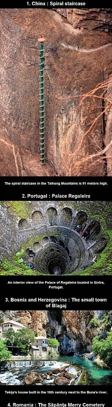 23 niesamowite miejsca na świecie