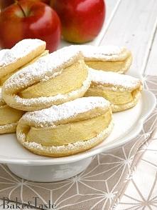 Serowe ciasteczka z jabłkie...