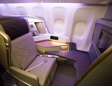 Luksus podczas lotu...