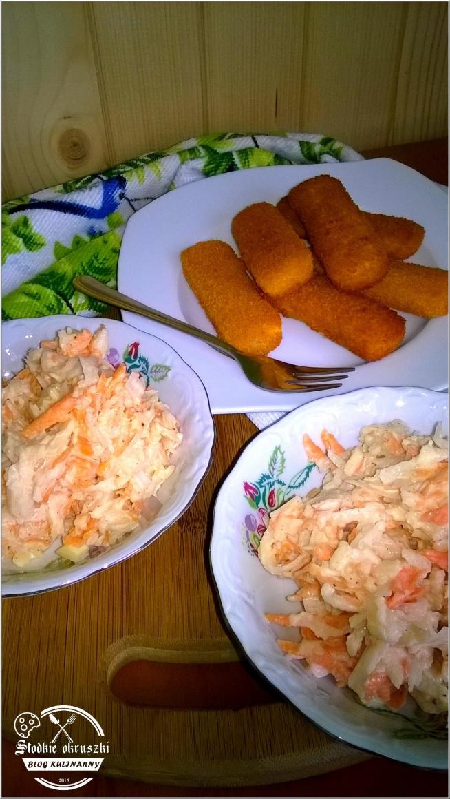 Surówka obiadowa z białej rzodkiewki. Pyszna surówka do obiadu. Przepis po kliknięciu w zdjęcie