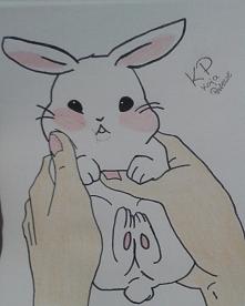 Słodki króliczek ;3