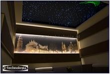 gwieździste niebo, gwiezdne niebo, oświetlenie mieszkania, projekt oświetleni...