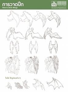 jak narysować skrzydła ?