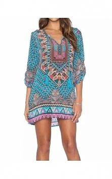 Sukienka/tunika zwiewna delikatna w stylu boho polecam link do sklepu klik w zdjęcie