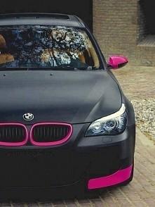 BMW by woman