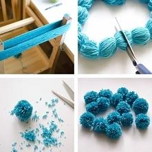 Yarn pom-poms the easiest w...