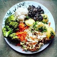 Kliknij w zdjęcie :)  Typowy obiad. :)