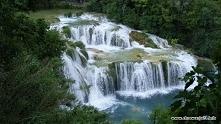 Rzeka Krka w Chorwacji