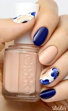Piękny wiosenny manicure