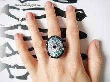Ręcznie robiony pierścionek...