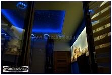 oświetlenie, oświetlenie sypialni, gwieździste niebo w sypialni, gwiezdne nie...