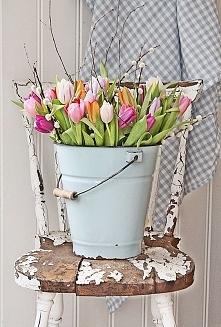 Ozdoby w stylu vintage - z pozornego chaosu wyłania się naturalne piękno :)