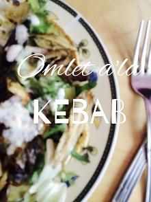 Omlet a'la Kebab  - przepis na blogu - madamena.blogspot.com