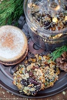 Paleo ciasteczka bakaliowe