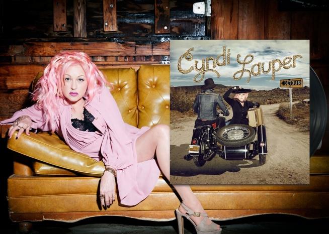 """Jedenasta studyjna płyta Cyndi Lauper to hołd tej niesamowicie wszechstronnej artystki dla tradycyjnej muzyki amerykańskiej. """"Detour"""" to klasyczne utwory country z lat 50. i 60., nagrane z udziałem legend gatunku."""