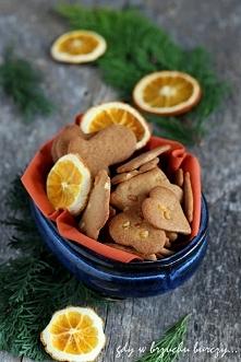 Ciastka pomarańczowe (bezgl...