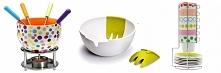 Pomysły na prezent ślubny: zestaw do fondue, miska na sałatkę ze sztućcami, zestaw filiżanek do espresso