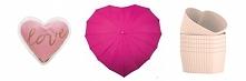 Pomysły na prezent ślubny: ogrzewacze do rąk, parasol w kształcie serca, foremki na muffiny