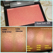 Róż do policzków Sleek Blush - Rose Gold