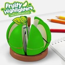 Owocowy zakreślacz Jabłko. 6 kolorowy.  gadżety do domu ucieszy.pl nowoczesny...