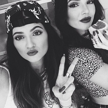 Siostry Jenner Kendall i Kylie