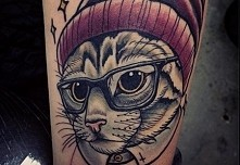 tattoo#cat