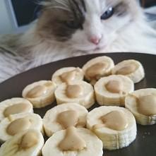banan z tahini, coś pyszneg...