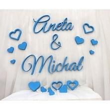 imiona na wesele, ślub, dekoracja sali weselnej szczegóły na rena24.eu