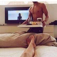 śniadanie do łóżka :-D