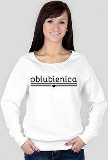 Bluza damska z napisem Oblubienica