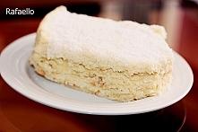 Rafaello kokosowe ciasto bez pieczenia Składniki: masło 350 g mleko 1 litr budyń 4 x 40 g waniliowy lub śmietankowy cukier waniliowy 32 g ksylitol( cukier brzozowy) 240 g żółtka...