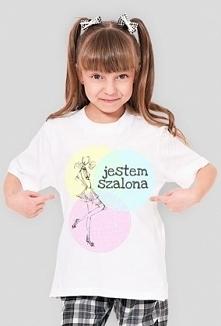 Koszulka z napisem Jestem s...